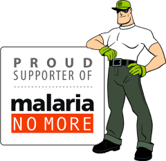 Dread Skeeter and the rest of the Mosquito Squad is happy to support Malaria No More in their mission to end malaria deaths in Africa