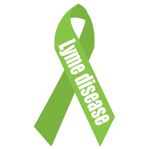 Lyme disease Awareness 6x6_Ribbon