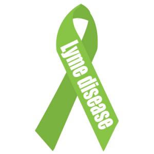 Lyme disease Awareness 6x6_Ribbon